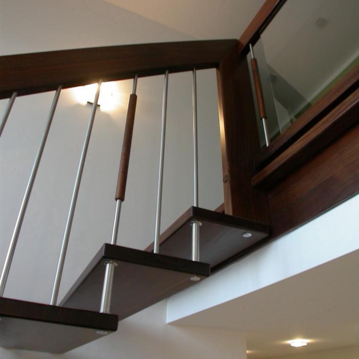 freitragende Treppe 01