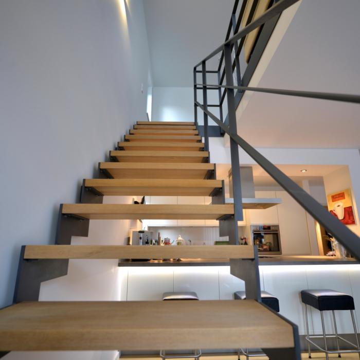 Stahltreppe 11